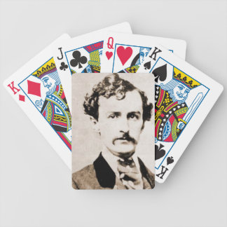 John Wilkes Booth Playing Cards