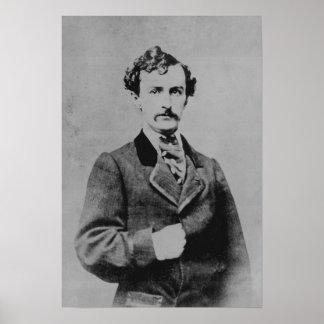 John Wilkes Booth Poster