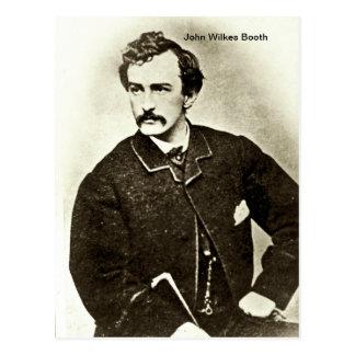 John Wilkes Booth Postal