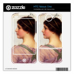 John William Godward - A grecian lovely Decal For HTC Nexus One