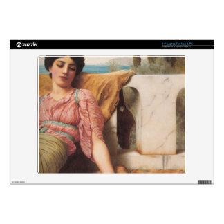 "John William Godward - A quiet pet 14"" Laptop Skins"