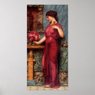 John William Godward - An offering Poster
