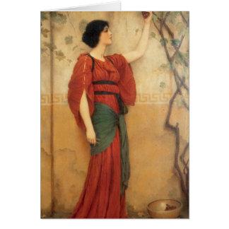 John William Godward - Autumn Cards