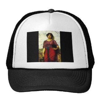 John William Godward- Grecian Idyll Trucker Hat