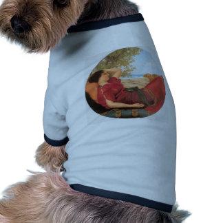 John William Godward- In Realms of Fancy Doggie Shirt