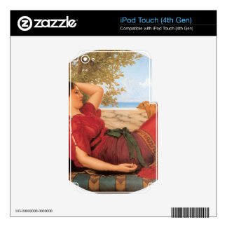 John William Godward - In Realms of Fancy Skins For iPod Touch 4G