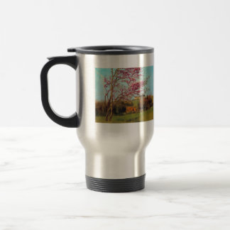 John William Godward - Landscape Blossoming Red Al Mug