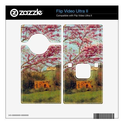 John William Godward - Landscape Blossoming Red Al Flip Video Ultra II Skins