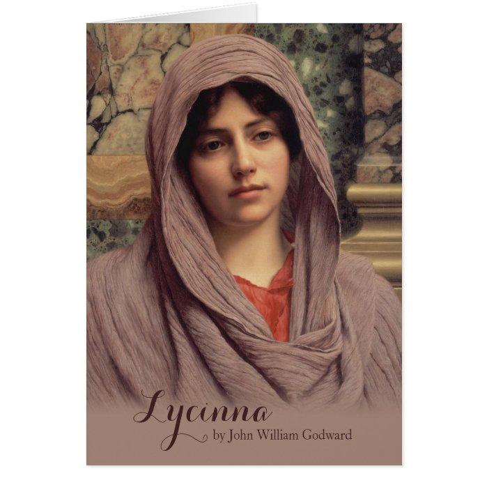 John William Godward Lycinna CC0885 Beautiful Art