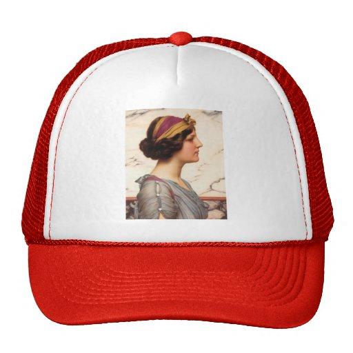 John William Godward- Megilla Hat