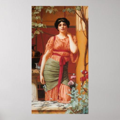 John William Godward - Nerissa Poster