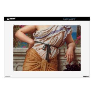 """John William Godward - Reverie 15"""" Laptop Skins"""