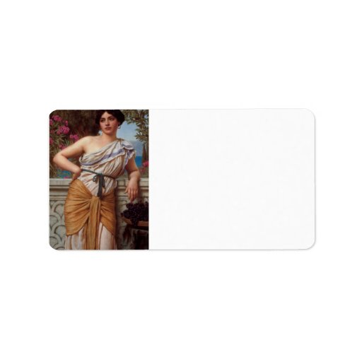 John William Godward - Reverie Custom Address Labels