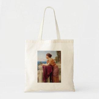 John William Godward - The belvedere Tote Bag