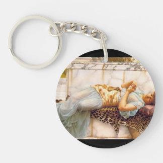 John William Godward- The Betrothed Single-Sided Round Acrylic Keychain