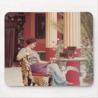John William Godward- The Jewel Casket Mouse Pads