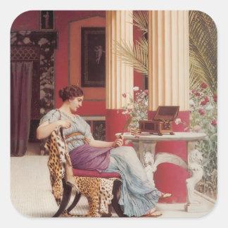 John William Godward- The Jewel Casket Sticker