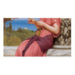 John William Godward- The Love Letter Double-Sided Standard Business Cards (Pack Of 100)