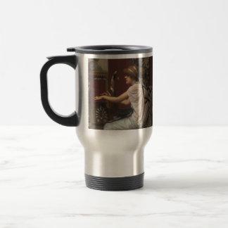John William Godward- The Muse Erato at her Lyre Mugs