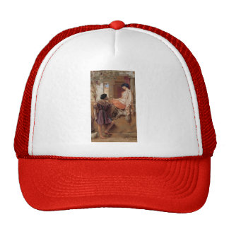 John William Godward- The Old, Old Story Trucker Hat