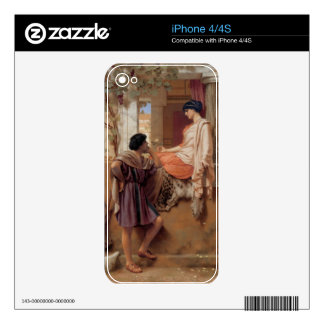 John William Godward - The old old story iPhone 4S Skins