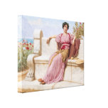 John William Godward- Tranquillity Gallery Wrap Canvas