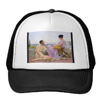 John William Godward- Youth and Time Trucker Hat