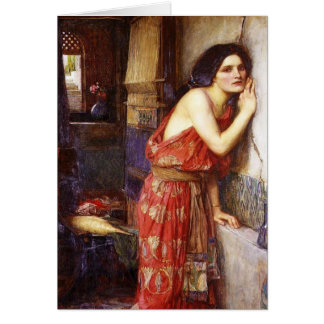 John William Waterhouse (1909) 'Thisbe' Card