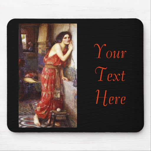 John William Waterhouse (1909) 'Thisbe' Mouse Pads