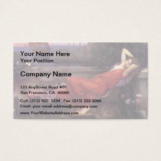 John William Waterhouse- Ariadne Business Card