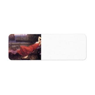 John William Waterhouse- Ariadne Label