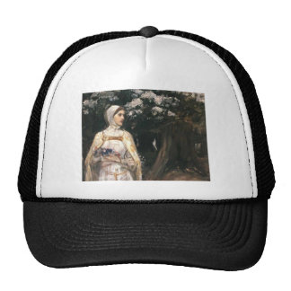 John William Waterhouse- Beatrice Hat