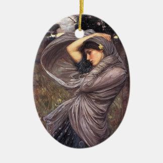 John William Waterhouse- Boreas Ceramic Ornament