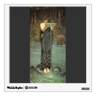 John William Waterhouse- Circe Invidiosa Wall Decals