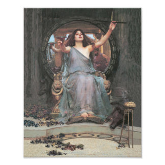 """John William Waterhouse """"Circle Offering the Cup"""" Photo Print"""