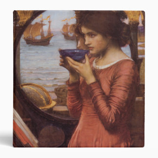 John William Waterhouse Destiny 3 Ring Binder