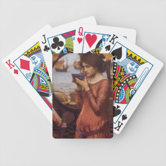 John William Waterhouse Destiny Bicycle Playing Cards