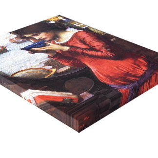 John William Waterhouse- Destiny Gallery Wrapped Canvas