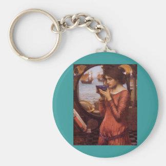 John William Waterhouse - Destiny Keychain