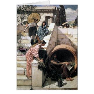 John William Waterhouse - Diógenes Felicitación