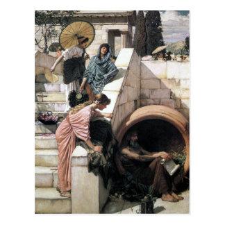 John William Waterhouse - Diógenes Tarjetas Postales