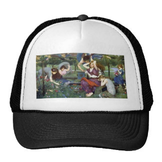 John William Waterhouse- Flora and the Zephyrs Hat
