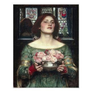 "John William Waterhouse ""Gather Ye Rosebud"" Print Photo Print"