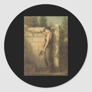 John William Waterhouse Gone But Not Forgotten Sticker