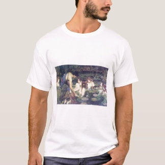 John William Waterhouse - Hylas and the Nymphs T-Shirt