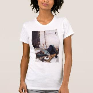 John William Waterhouse- Its sweet doing nothing T-shirts