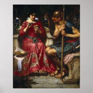 John William Waterhouse - Jason and Medea Poster