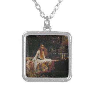 John William Waterhouse - la señora de Shalott Joyeria