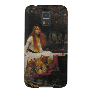 John William Waterhouse - la señora de Shalott Fundas Para Galaxy S5