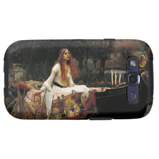John William Waterhouse la señora Of Shalott Samsung Galaxy S3 Protectores